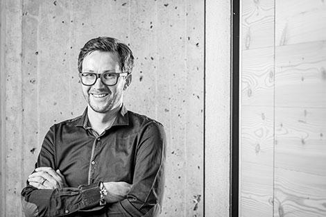 Portrait von Linus Weishaupt